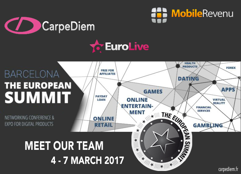 CarpeDiem goes to TheEuropeanSummit 2017